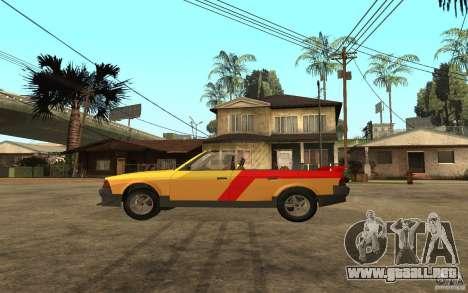 Moskvich 2141 Cabriolet para GTA San Andreas vista posterior izquierda