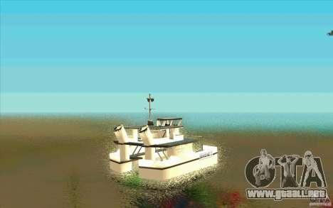 Ferry para GTA San Andreas vista posterior izquierda
