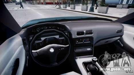 Nissan 240sx v1.0 para GTA 4 visión correcta