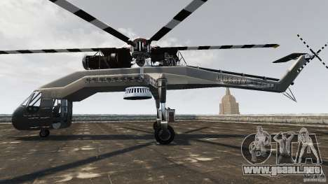 SkyLift Helicopter para GTA 4 left