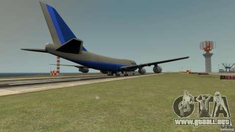 Finnair Airplane Mod v1.0 para GTA 4 left