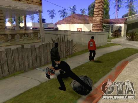 Chainsaw Massacre v. 2.0 para GTA San Andreas