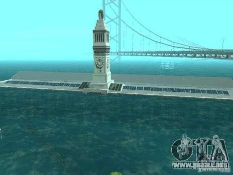 Inundación para GTA San Andreas sucesivamente de pantalla