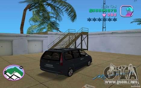Citroen C8 para GTA Vice City left