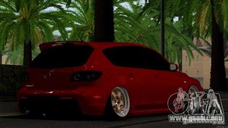 Mazda Speed 3 para la visión correcta GTA San Andreas