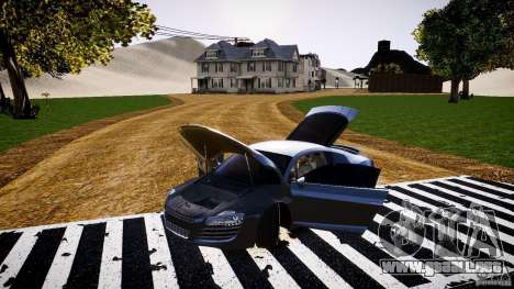 Audi R8 2008 para GTA 4 vista lateral