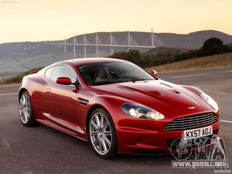 Aston Martin DBS V12 para GTA Vice City visión correcta
