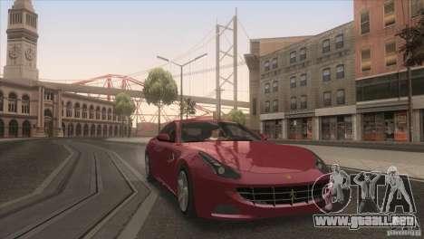 Ferrari FF 2011 V1.0 para la vista superior GTA San Andreas