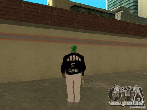 Nueva ranura gruesa para GTA San Andreas quinta pantalla