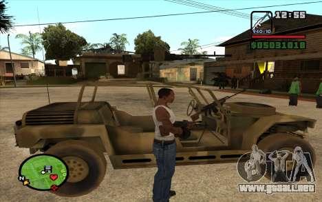 EL PKK para GTA San Andreas