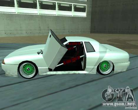 New elegy para vista inferior GTA San Andreas