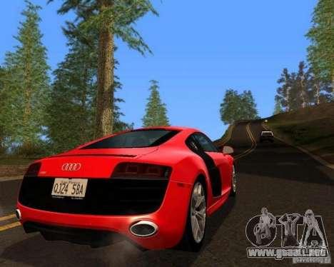 Real World ENBSeries v4.0 para GTA San Andreas octavo de pantalla