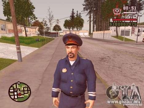 Policías para GTA San Andreas sucesivamente de pantalla