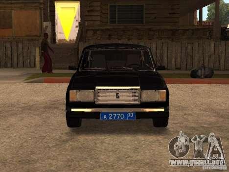 VAZ 21073 servicio para GTA San Andreas left