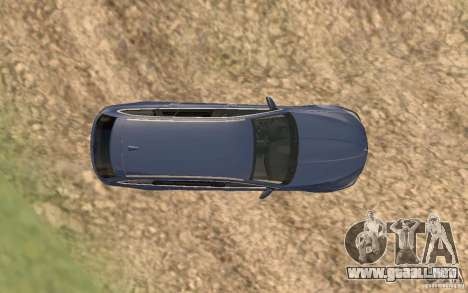 BMW M5 F11 Touring para GTA San Andreas interior