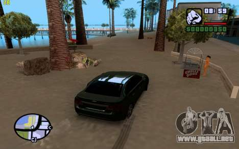 ENBSeries by VadimSpiridonov para GTA San Andreas quinta pantalla