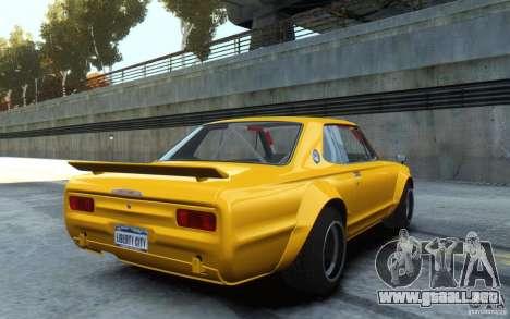Nissan Skyline 2000GT-R C10 Speedhunters para GTA 4 left