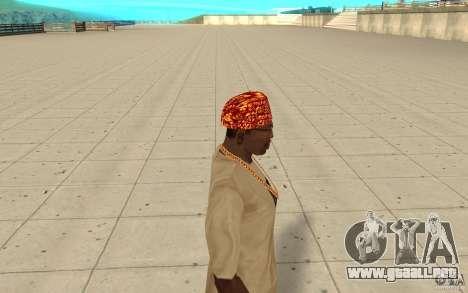 Bandana de Halloween para GTA San Andreas segunda pantalla