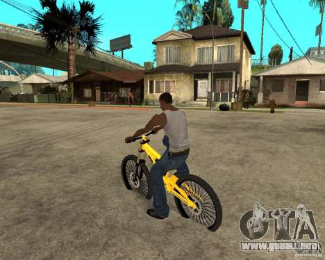 Nox Startrack DH 9.5 para GTA San Andreas left