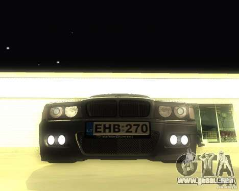 BMW 740i Update para GTA San Andreas left