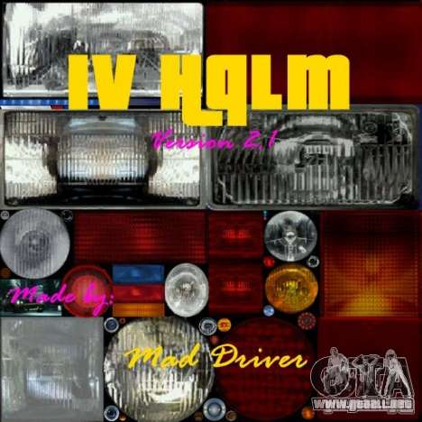 IV HQLM v2.1 para GTA San Andreas