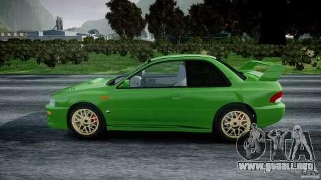 Subaru Impreza 22b 1998 (final) para GTA 4 left