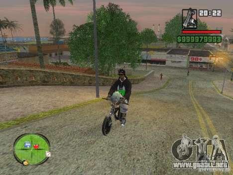 NEW Ryder para GTA San Andreas sucesivamente de pantalla