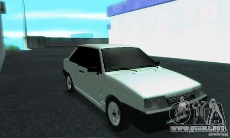 VAZ 21099 Coupe para visión interna GTA San Andreas