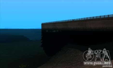 ENBSeries 0.075 para GTA San Andreas sucesivamente de pantalla