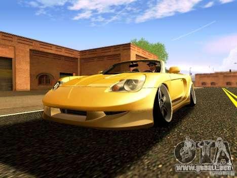 Toyota MR-S para GTA San Andreas vista hacia atrás