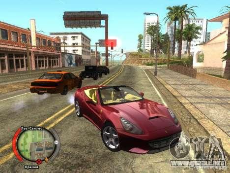 New HUD by shama123 para GTA San Andreas segunda pantalla