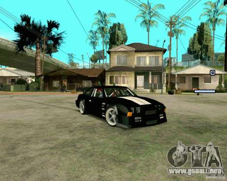Hotring Racer Tuned para GTA San Andreas left