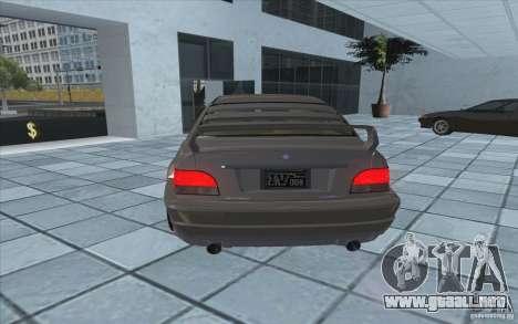 Centinela de GTA 4 para GTA San Andreas vista posterior izquierda