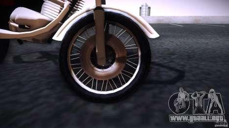 Honda CG 125 para la visión correcta GTA San Andreas