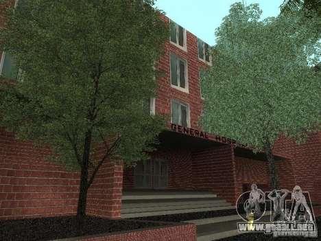 Nuevo hospital de texturas para GTA San Andreas