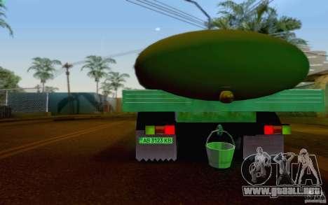 GAZ 3309 petrolero de la leche para la visión correcta GTA San Andreas