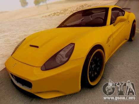 Ferrari California Hamann 2011 para GTA San Andreas