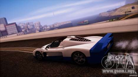 Maserati MC12 V1.0 para la visión correcta GTA San Andreas