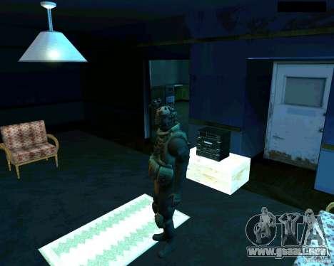 Soldados de la CoD MW 2 para GTA San Andreas segunda pantalla