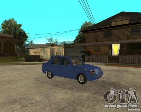 ZAZ 1103 Slavuta para la visión correcta GTA San Andreas