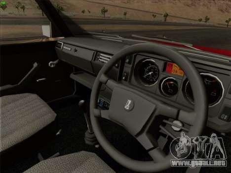Lada 2105 RIVA (exportación) 2.0 para las ruedas de GTA San Andreas