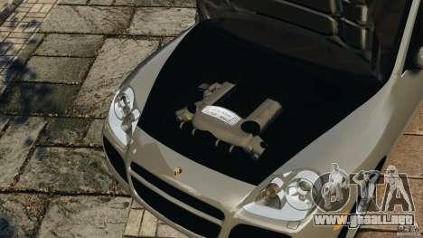 Porsche Cayenne Turbo 2003 para GTA 4 vista lateral
