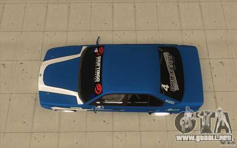 BMW E34 V8 para la visión correcta GTA San Andreas