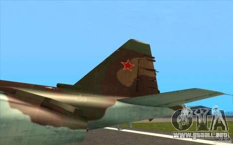 El Su-25 para visión interna GTA San Andreas