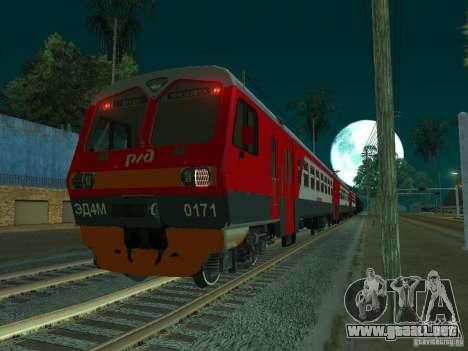 ÈD4M-0171 RUSSIAN RAILWAYS para la visión correcta GTA San Andreas