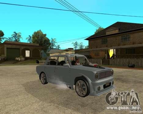 VAZ 2101 coches TUNING por ANRI para la visión correcta GTA San Andreas