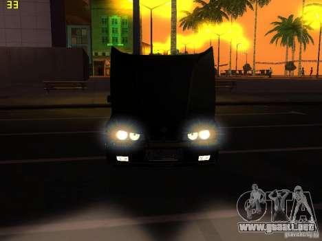 BMW E34 Alpina B10 Bi-Turbo para visión interna GTA San Andreas