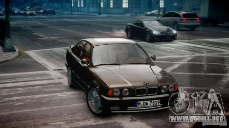 BMW M5 (E34) 1995 v1.0 para GTA 4 left