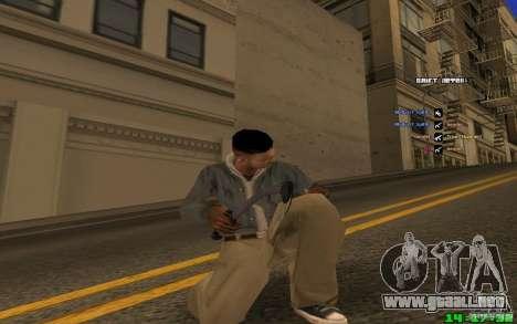 Para romper el hielo (azul) para GTA San Andreas tercera pantalla