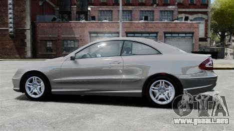 Mercedes-Benz CLK 55 AMG Stock para GTA 4 left